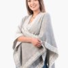 INTI0246 REVERSIBLE SHAWL RUANA FOR WOMEN YUKON